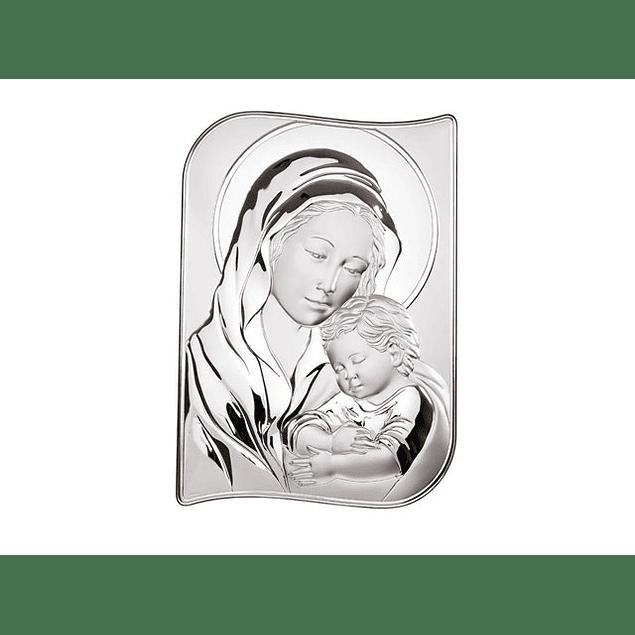 Placa Amor de Mãe bilaminado