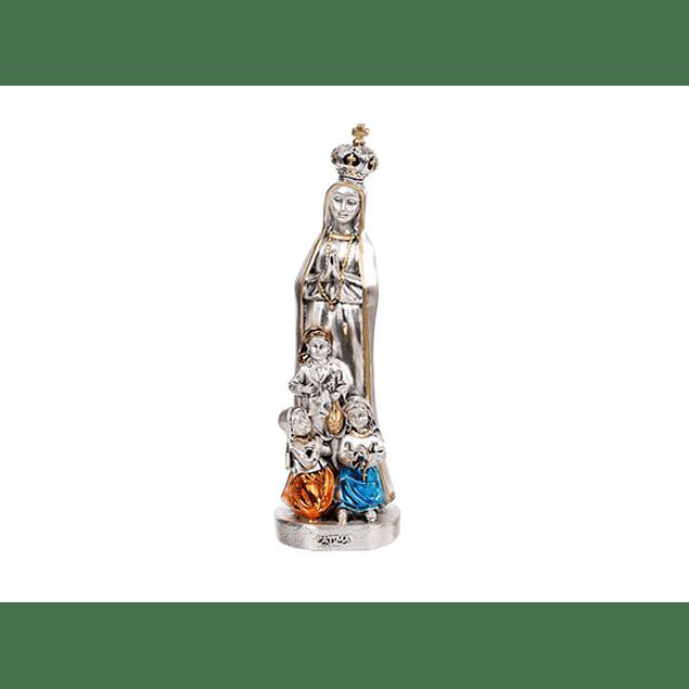 Imagem de Nossa Senhora com três pastorinhos bilaminado