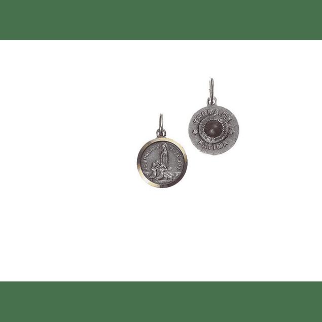 Medalha redonda terra de Fátima