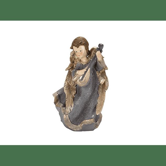 Imagem Anjo com instrumento dourado