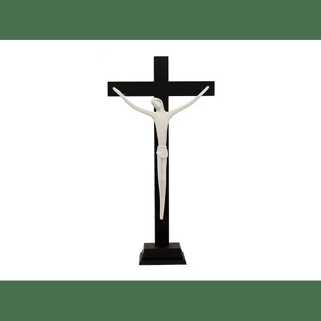 Cristo Porcelana Com Base