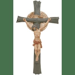 Crucifixo com dourado