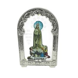 Placa decorativa com Aparição de Fátima