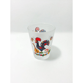 Glass shot of Barcelos Rooster