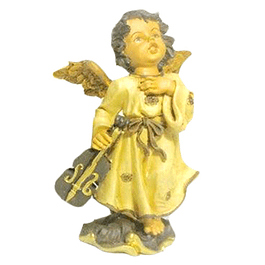 Statue Guardian Angel with Instruments