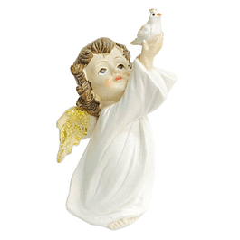 Statue of Guardian Angel with Dove