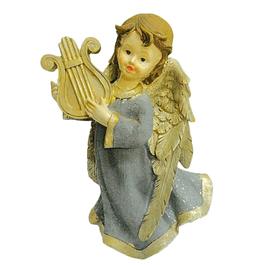 Statue of Guardian Angel with violin