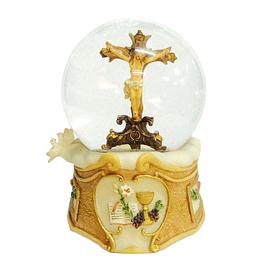 Bola de água com crucifixo