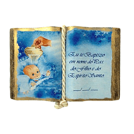 Open Decorative Book
