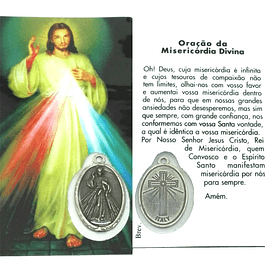 Prayer card of Divine Mercy