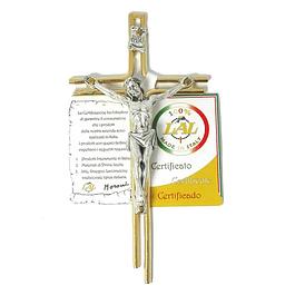 Crucifixo em dourado
