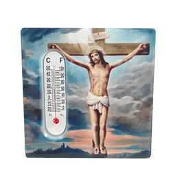 Íman de azulejo com Cristo