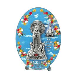 Placa religiosa de Fátima