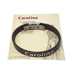 Bracelet with name and name history