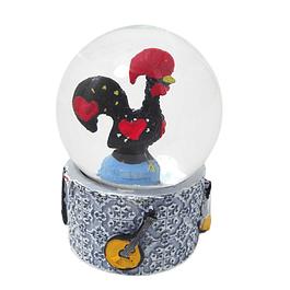 Bola de água com azulejo português