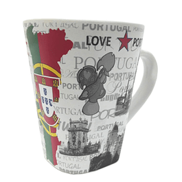 Mug with map of Portugal