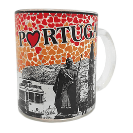 Portugal Glass Mug