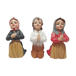 Imagem dos três pastorinhos de Fátima