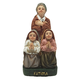 Statue of the three little shepherds of Fatima
