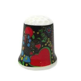 Thimble with Barcelos cock