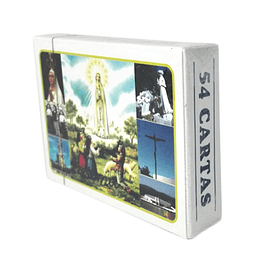 Card deck with images of Fatima