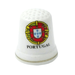 Thimble with coat of arms of Portugal