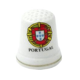 Dedal com brasão de Portugal