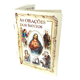Livro com orações dos Santos Católicos