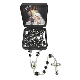 Crystal and brilliant rosary