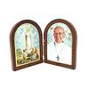 Placa decorativa de Papa Francisco