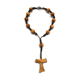 Olive wood Decade Rosary