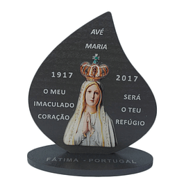 Placa decorativa da Fátima