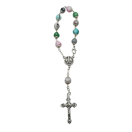 Decade rosary of pearls