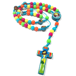 Colourful Children Rosary
