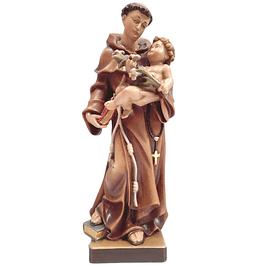 Wood statue of Saint Anthony