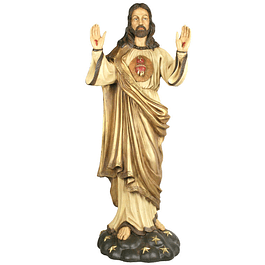 Statue of Sacred Heart of Jesus 110 cm