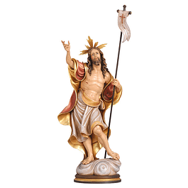 Wood statue of Christ
