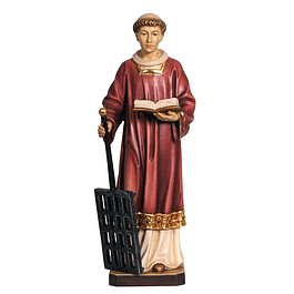 Wood statue of Saint Lawrence