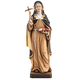 Wood statue of Saint Clare