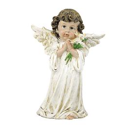 Imagem de Anjo da Guarda com flores