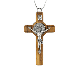 Crucifix of Saint Benedict wood