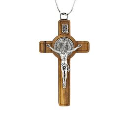 Crucifixo de São Bento madeira