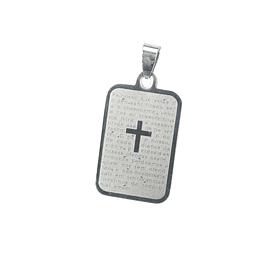 Medalha com oração