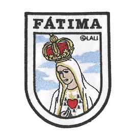 Emblema bordado Sagrado Coração de Maria