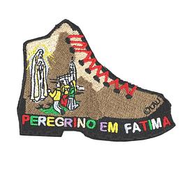 Embroidered Pilgrim Emblem