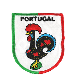 Emblema bordado de portugal