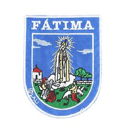 Emblema bordado de Fátima