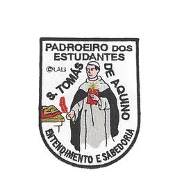 Emblema bordado de São Tomás de Aquino