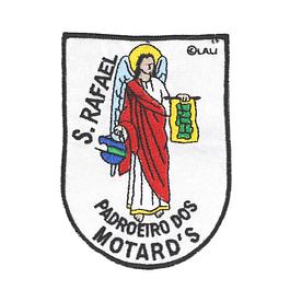 Emblema bordado de São Rafael