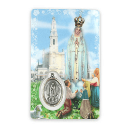 Prayer card of the Blessed Virgin Mary